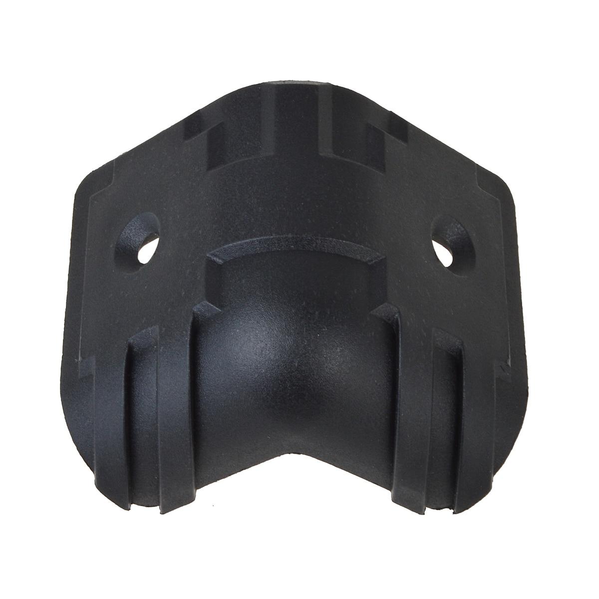 4Pcs Black Hard Plastic Guitar Amp Cabinets Amplifier Speaker Cabinet  Corner Protectors L In Guitar