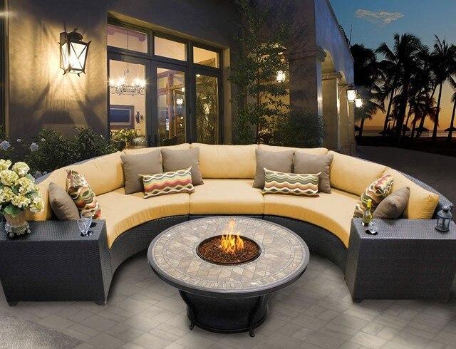 Sigma verano llegada Dubai fantasía gran ronda muebles de ratán en ...