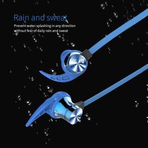 Image 2 - XT22 Drahtlose Bluetooth 4,2 Kopfhörer Magnetische Anziehung Headset 3D Stereo Bass Wasserdichte Sport Kopfhörer mit Mic TF Karte