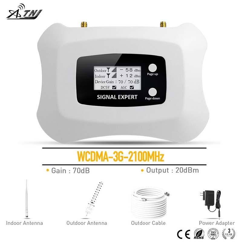 2020 WCDMA 3G 2100MHz Mobile Signal Booster 3G cellulär - Reservdelar och tillbehör för mobiltelefoner - Foto 1