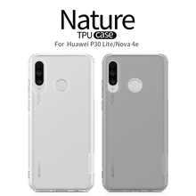 For Huawei p30 lite Case Cover NILLKIN Ultra Thin Slim TPU Case For Huawei p30 lite Nova 4e High Quality Fitted Cases Cover цена и фото