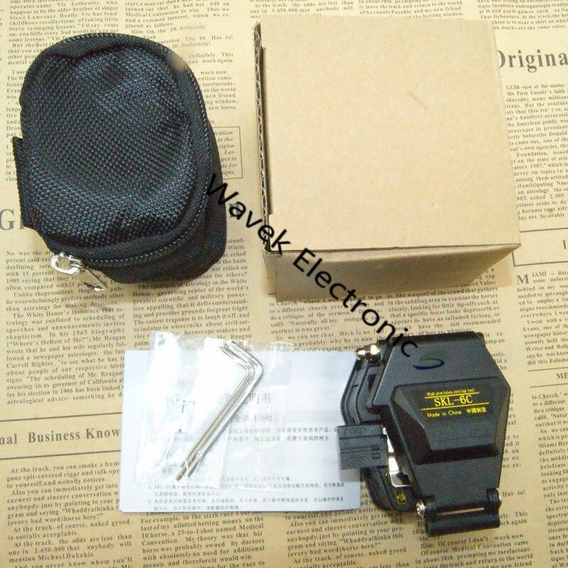 New Fiber cleaver SKL 6C cable cutting font b knife b font FTTT fiber optic font