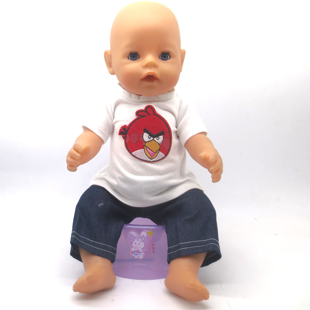43cm Zapf Baby Born Doll Clothes All kinds of style ...