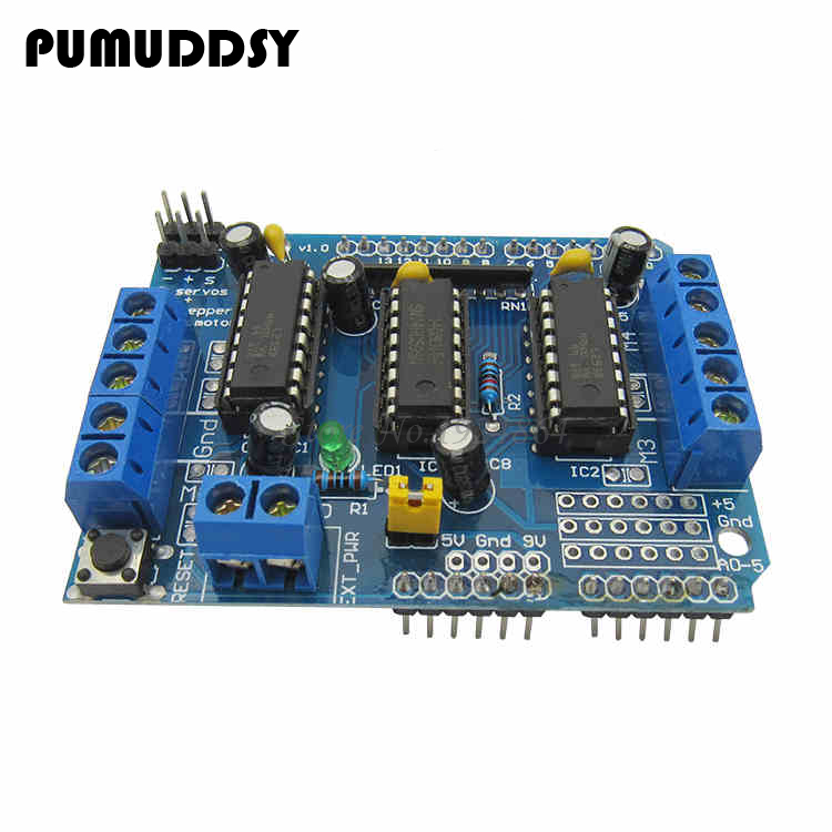 1pcs L293D motor control shield motor drive expansion board FOR motor shield new