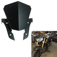 For Yamaha MT 07 MT07 MT 07 Motorbike Windshield Windscreen Wind Screen Motor Upper Headlight Top