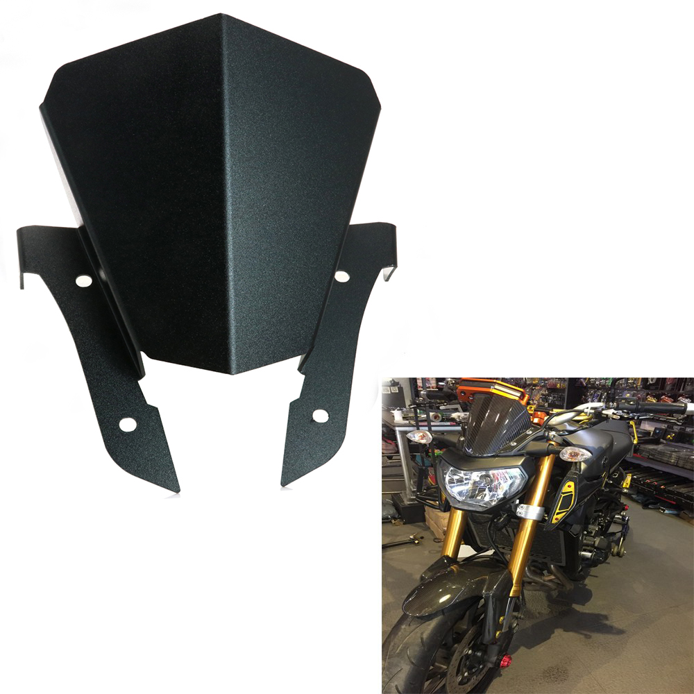 motorcycle black windshield windscreen motor upper. Black Bedroom Furniture Sets. Home Design Ideas