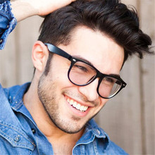 Retro fashion glasses frame men women retro vintage decorative frames with clear lenses round glass