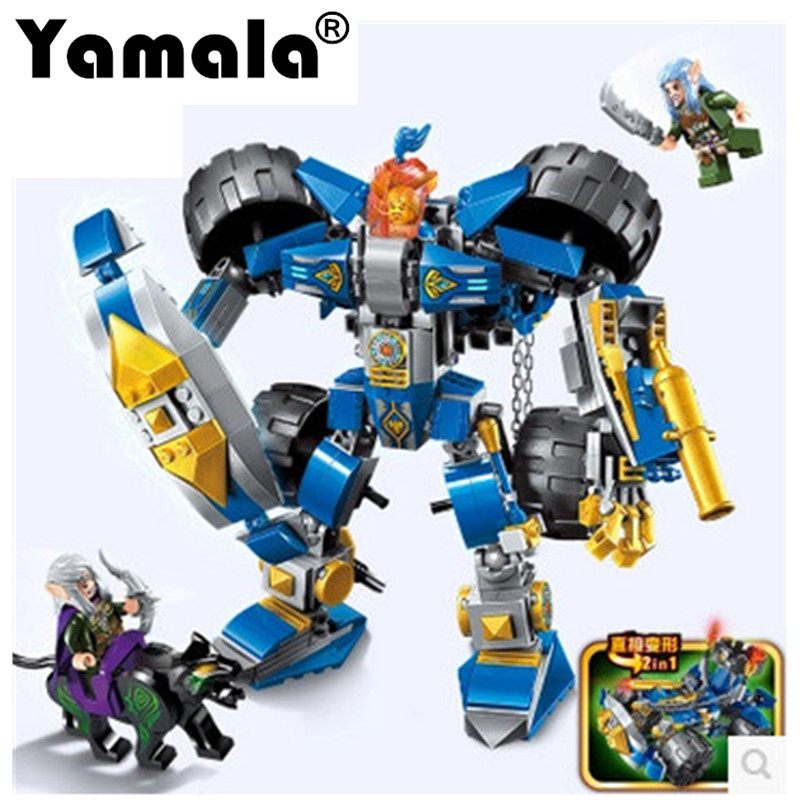 [Yamala] Building Block 2313 Knight Mech Glorious Battle Series  assembled toys Future Knights Compatible with legoeingly gift mfi341s2313 2313 sop8