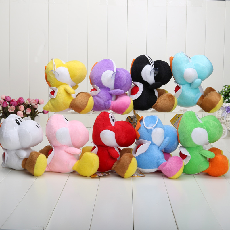 17CM-Super-Mario-Bros-Yoshi-Plush-Stuffed-toys-Dolls-Mario-Plush-Toys-Free-shipping-1