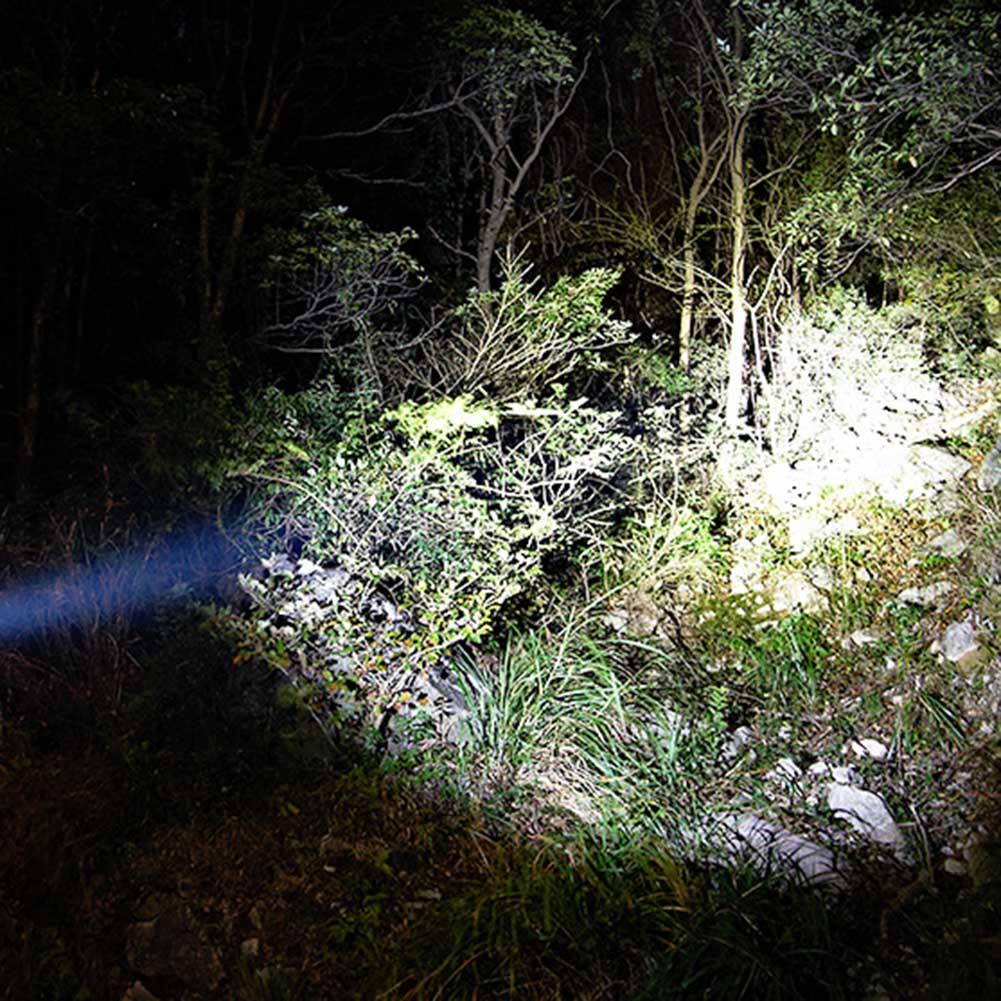 1 pièces LED lampe de poche de plongée torche Portable lampe étanche haute puissance sous-marine QJ888