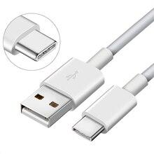 3,1 USB зарядный кабель с разъемом типа C для быстрой зарядки USB-C зарядный кабель для передачи данных для Xiaomi mi5 mi 5s 4s mi4c Umi Samsung A10 A20 A30 A40 A50 A60