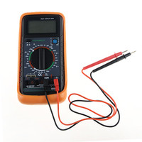 1PC Black and Yellow Hot Digital Multimeter/Voltage/Current/Diode/Ohm/Capacitance Tester / Transistor Home Factory Machinery
