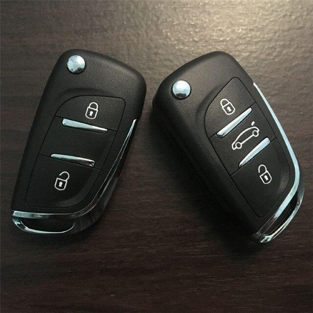 AUTEWODE Refit remote Car Key Shell for Citroen C5 C4 Coupe VTR C6 C8 C2 Berlingo Xsara Picasso CE0523 HU83 Blade Fob Case