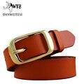 [Dwts] 2017 nueva marca de cuero de la correa de las mujeres cinturones cinturones cummerbunds ancho cinturón de cuero de alta calidad para las mujeres cinturones de mujer