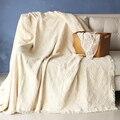 white 100%cotton striped Bohemia Geometric rug Carpet Exotic Geometric Bedding Couch Cover thread towel throw Blanket body sofa