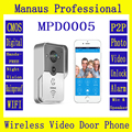 High Quality Wifi video door phone doorbell Wireless camera Intercom Support IOS Android Smart Phone Tablet Remote monitor D5C