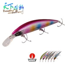 TAF Classic Hot Model Sinking Minnow 11cm 35g Fishing Lure Plastic Isca Artificial Bait Carp Inside Lead Weight Wobblers
