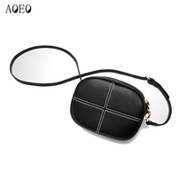AOEO Woman Shoulder Bags Genuine Leather Real Ladies Soft Touch England Style Messenger Women Small Mini Phone Bag Female