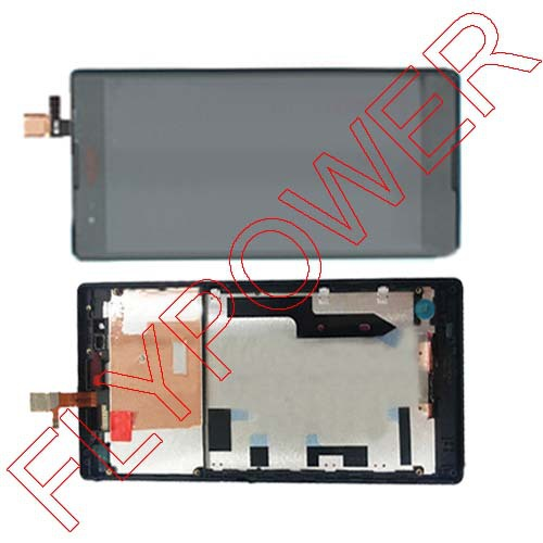 Подробнее о Display LCD+Touch Screen Digitizer + Frame Completed Assembly For Sony For Xperia T2 Ultra Dual D5322 XM50h By Free Shipping for sony xperia t3 m50w d5102 d5103 d5106 lcd display with touch digitizer frame assembly by free shipping white