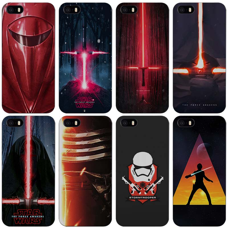 Star Wars Lightsabers Plastic Case Cover Shell for iPhone Apple 4 ...