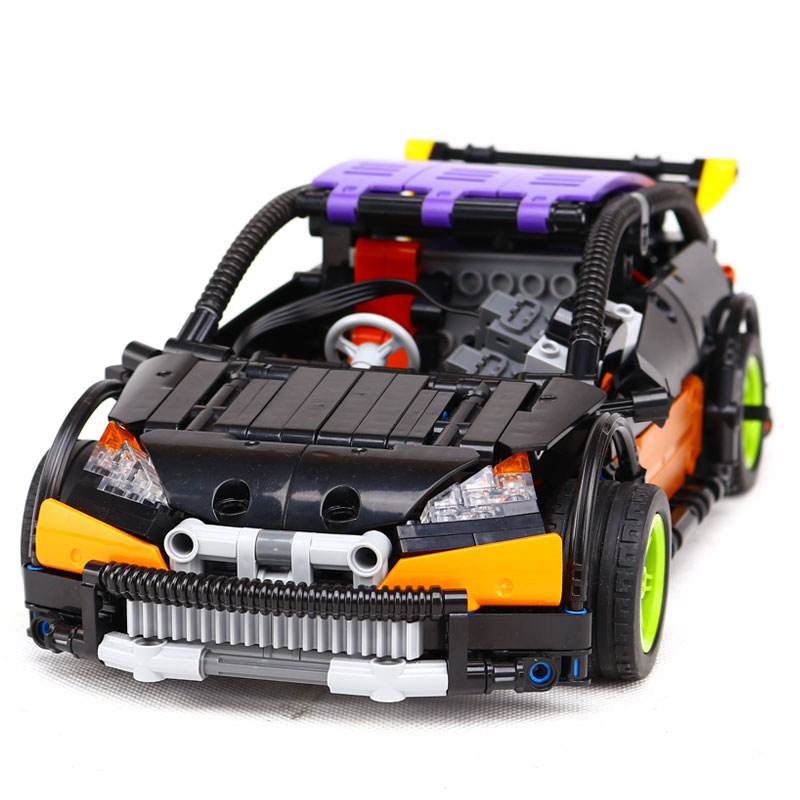 Lepin 20053 Technic Series The Hatchback Type R Set MOC-6604 Building Blocks Bricks LegoING Educational Toys to Boy Gifts Model lepin 20053 genuine new technic series the hatchback type r set moc 6604 building blocks bricks educational toys boy gifts model