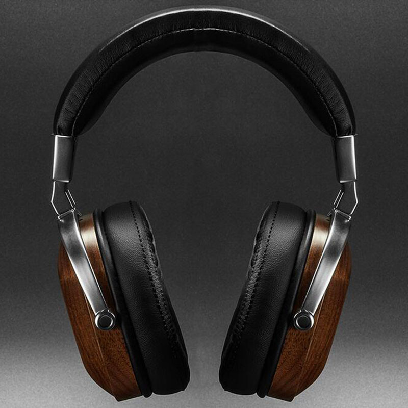 Original-BossHifi-B8-HiFi-Wooden-Metal-Headphone-Black-Mahogany-Headset-Earphone-With-Beryllium-Alloy-Driver-And