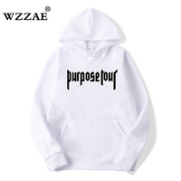 Justin Bieber Fear Of God Purpose Tour Men Women Hoodies Black Pink Hooded Sportswear Mens Hoodie