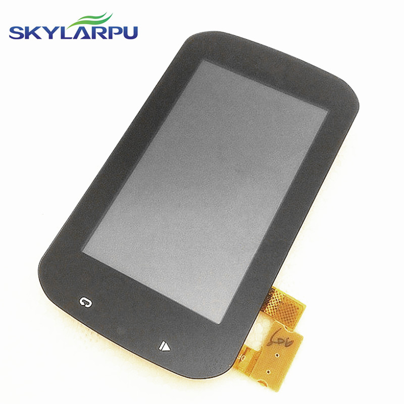 skylarpu 3 inch LCD screen for GARMIN Edge Explore 1000 bicycle GPS LCD display Screen with Touch screen digitizer replacement skylarpu 2 2 inch lcd screen module replacement for lq022b8ud05 lq022b8ud04 for garmin gps without touch