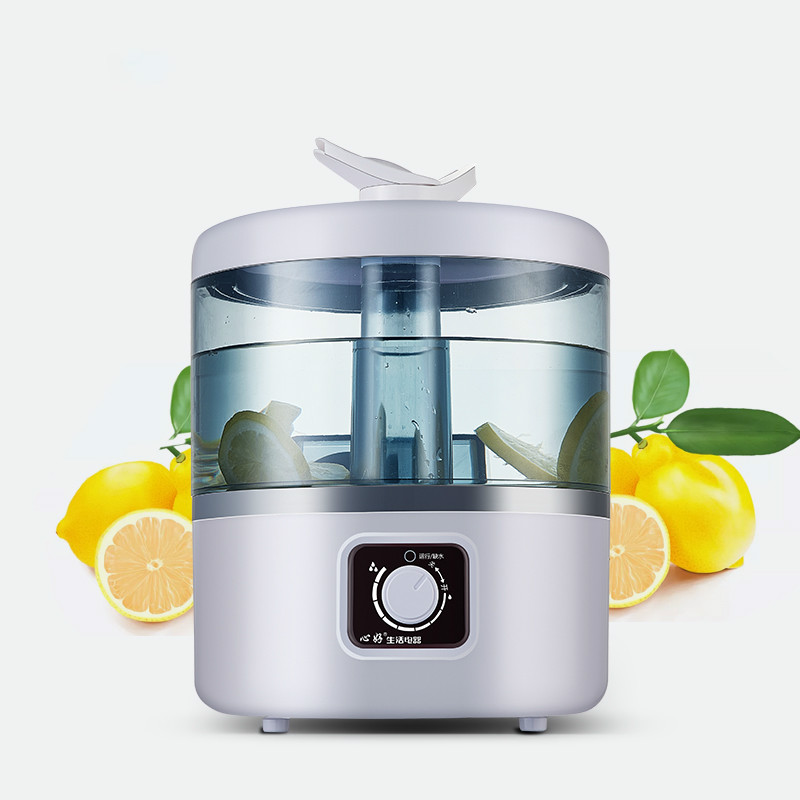 Intelligent Humidifier Air Hydrating Spray Air Purifier Household Small Mute Add Water To The Full Caliber Easy To Clean