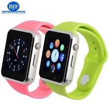 Smart watch para android bluetooth smartwatches aviso deporte podómetro apoyo whatsapp para samsung huawei cámara gt08 dz09 q18