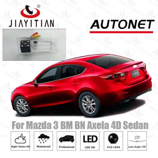 jiayitian rear view camera for mazda 3 bm bn axela 4d sedan 2013
