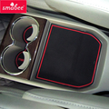 Smabee voiture porte tapis de fente pour Mazda 8 2009 2016 MAZDA8 porte gobelet accessoires intérieurs porte rainure tapis 15 pièces   -
