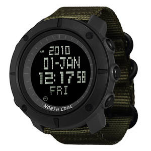 Watch-Hours Swimming Digital Water-Resistant North-Edge Military Army Running Sports
