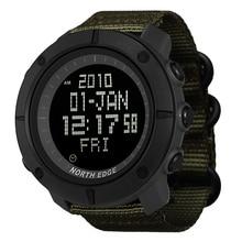 цены на NORTH EDGE Men's sports Digital watch Hours for Running Swimming military army watches water resistant 50m stopwatch timer  в интернет-магазинах
