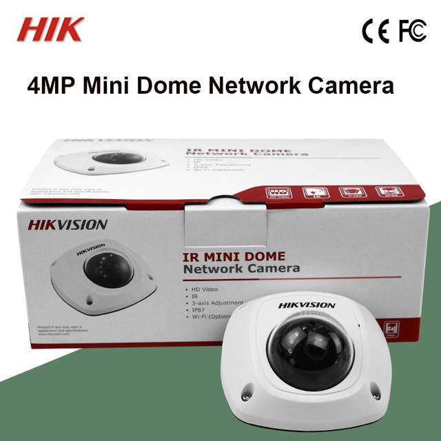 Hik 4MP Mini Dome DS 2CD2542FWD IWS WiFi Built In Microphone IK08