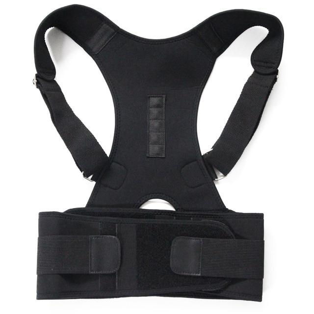 Male Female Adjustable Magnetic Posture Corrector Corset Back Brace Back Belt Lumbar Support Straight Corrector de espalda S-XXL 2
