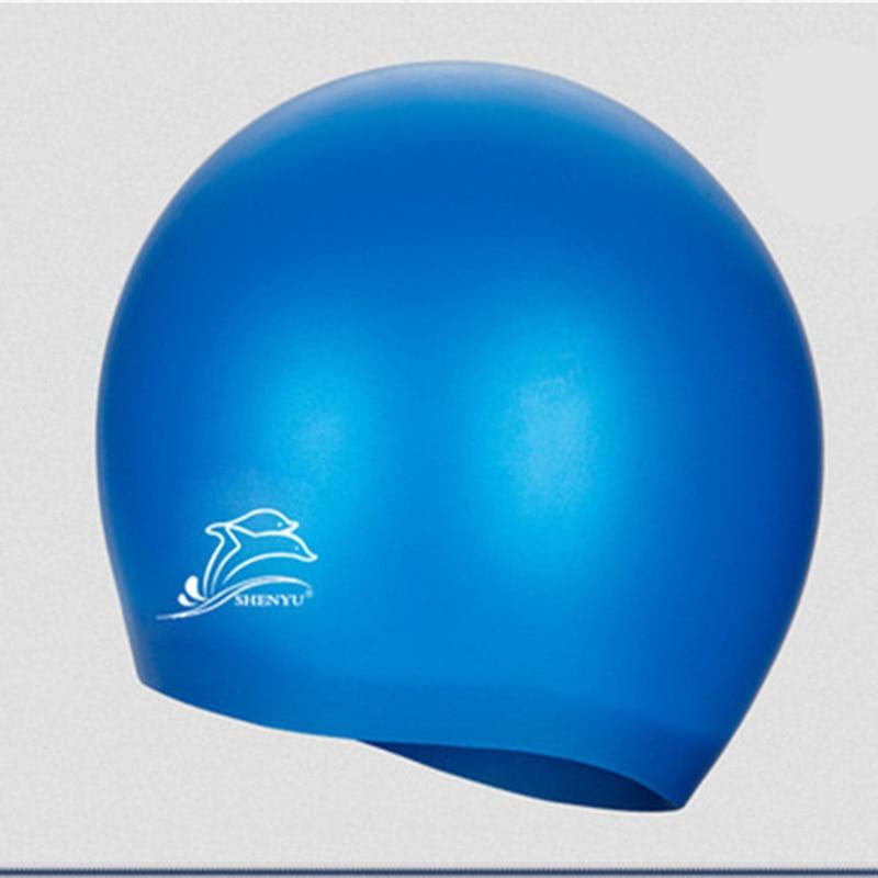 Profesional Flexible Impermeable de silicona Gorro de natación - Ropa deportiva y accesorios - foto 1
