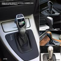 1Pcs Durable Car modification LHD Automatic LED Shift Knob Gear Shifter Lever for BMW E46 E60 E61 E63 E64 Fashion Design