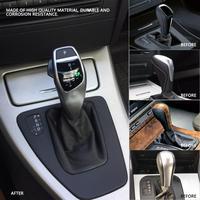 1Pcs Durable Car modification LHD Automatic LED Shift Knob Gear Shifter Lever for BMW E46 E60 E61 E63 E64 Fashion Design
