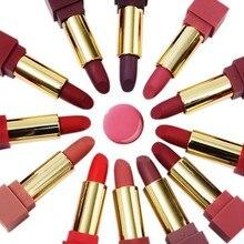12 pcs/set Matte Lipstick Velvet Lasting Moisturizing Cosmetics Lipstick Red Lips Makeup Lip Gloss Lip Kit Beauty Lipstick pudaier 24 colors lipstick moisturizing vitamin e lips velvet sexy red lip matte lipstick make up beauty matte cosmetic lipstick