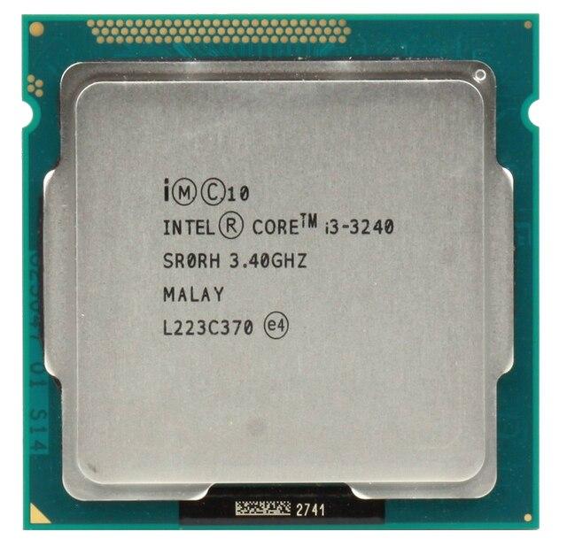 Intel Core i3 3240 3.4 Ггц LGA 1155 Настольный ПРОЦЕССОР Процессор SR0RH