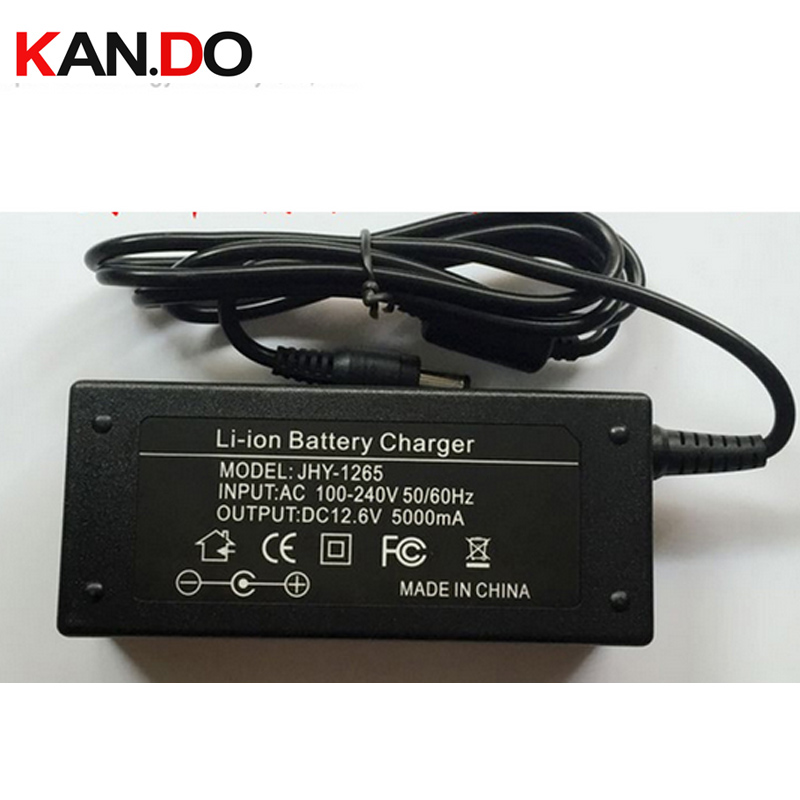 7pcs 12.6V 5A charger,12.6V charger for battery pack,5A charger for 12V lithium battery li-ion charger 12V high speed charging