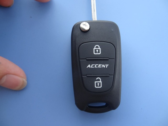 Hyundai accent key replacement
