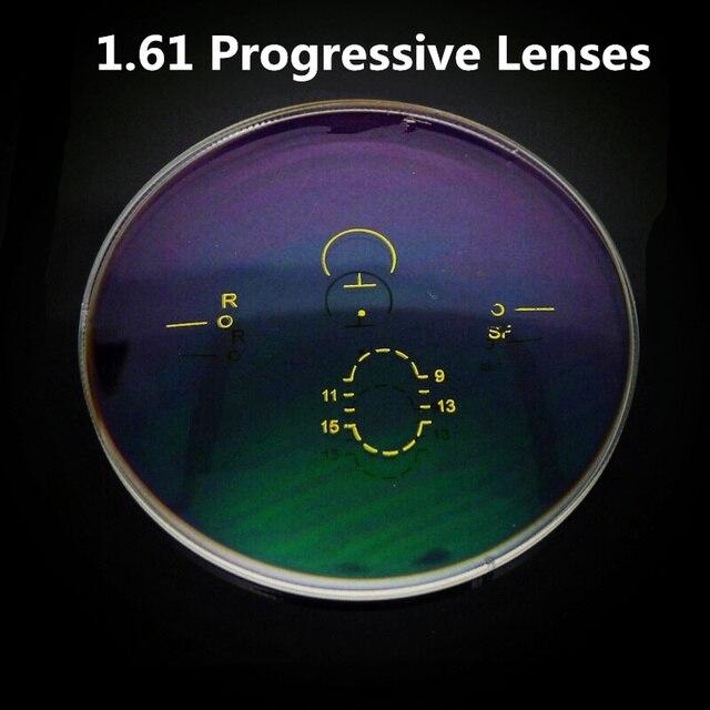 1.61 Индекс Прогрессивный Дополнение Оптические Линзы Тонкий Бифокальные Мультифокальной Линзами за Близорукость/Дальнозоркость