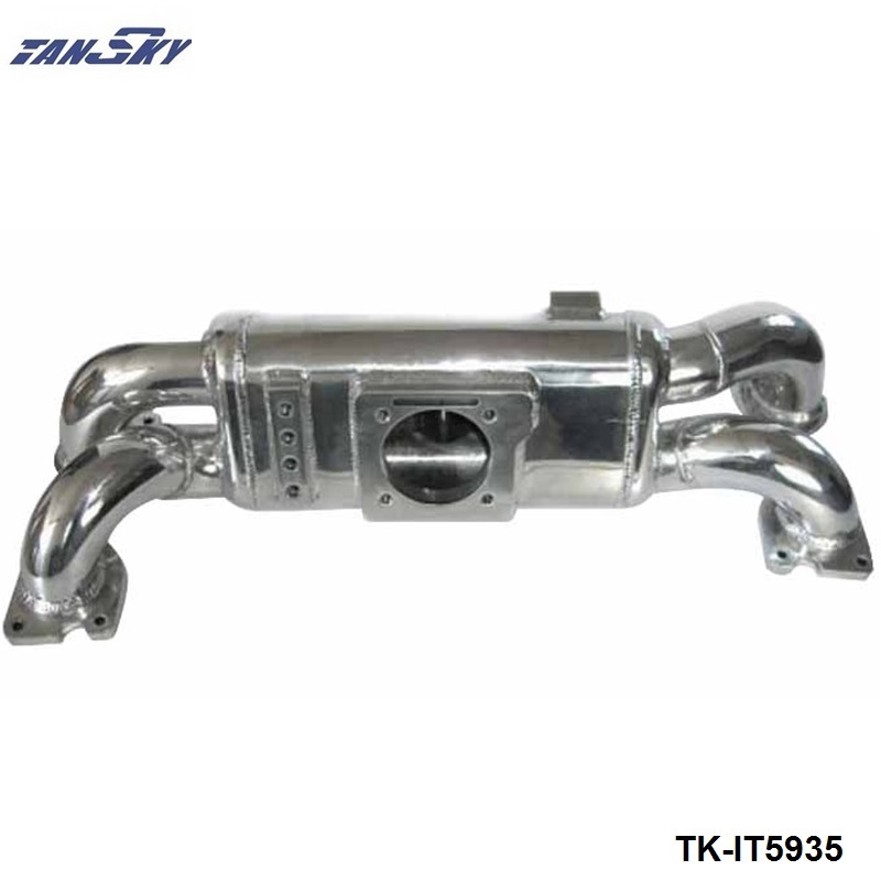 Engine Swap Turbo Intake Manifold For Subaru WRX EJ20 High Performance Polished TK-IT5935 engine swap turbo intake manifold for mitsubishi evo 4 9 4g63 high performance polished it5934