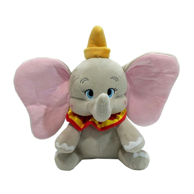 Cute Dumbo Elephant Plush Toy Stuffed Animals 35cm 14inch Baby Girls