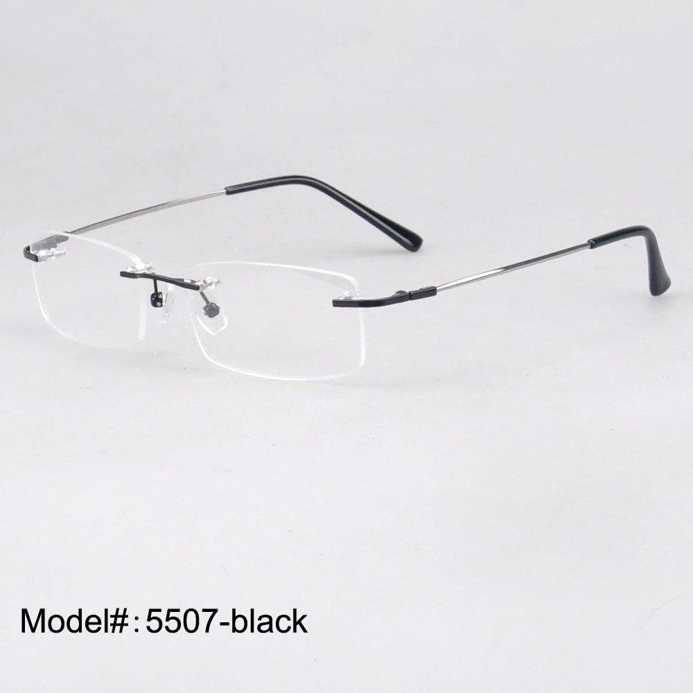 IL MIO DOLI Commercio All'ingrosso occhiali senza montatura unisex memmory titanium Occhiali montature da vista 1 lotto 50 pz prezzo di fabbrica 5507