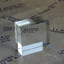 ФОТО 30mm plexiglass paperweight acrylic blank blocks business gift