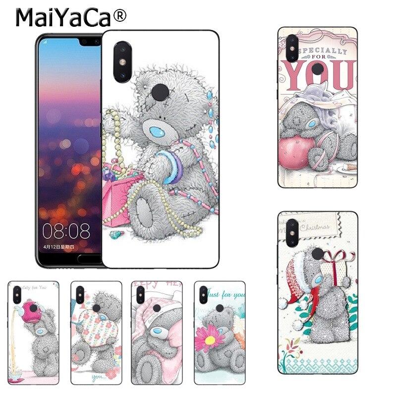 MaiYaCa Tatty Teddy Me To You с принтом медведя рисунок ТПУ чехол для телефона для xiaomi mi 8se 6 note3 redmi 5 5 плюс Примечание 5 Чехол coque