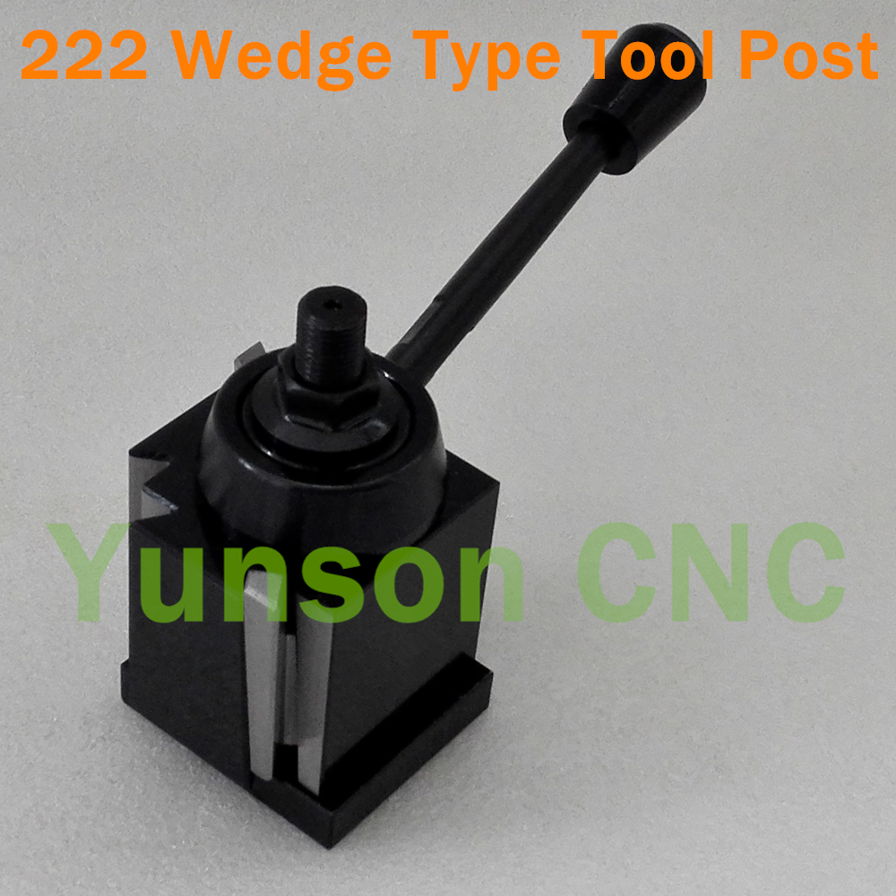 222 GIB Wedge Type Quick Change Tool Post QCT Post Lathe Swing Diameter 10 15 for